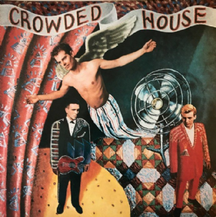 Crowded House ‎- Crowded House (LP) (VG-/EX-)